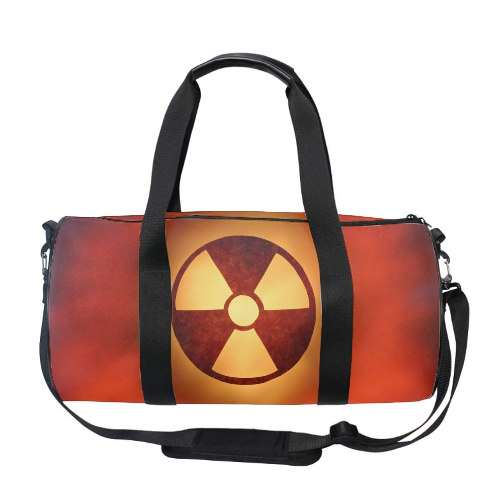 Radioactive Element Duffle Bag for Travel Gym Sports Lightweight Luggage Duffel Bags