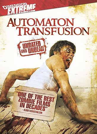 AUTOMATON TRANSFUSION (DVD/WS/ENG-SP-SUB/SELL-THROUGH ONLY) AUTOMATON TRANSFUSIO