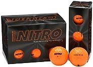 Nitro Maximum Distance Golf Ball (12-Pack) (Renewed)