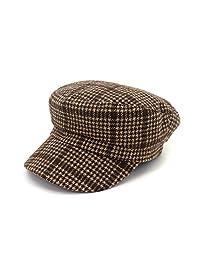 women men cowboy flat top painter hat cap hat girl hat female Korean version of the tide fashion beret (Color : 2, Size : 56-58cm/22-23in)