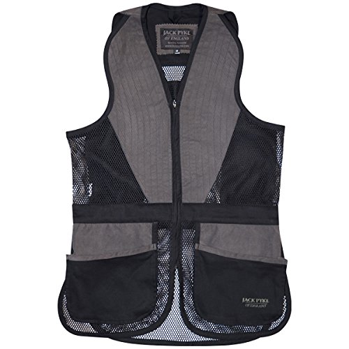 Jack Pyke Sporting Skeet Vest Black Size XXL