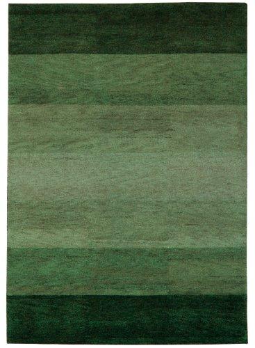 Un Amour Von Teppich 13828 Baku Stripe Teppich Moderne Wolle Grun