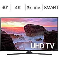Samsung Electronics UN40MU630D 40 Inch 4K Ultra HD (UHD) Smart LED TV