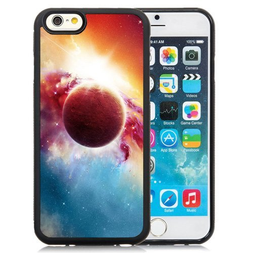 Custom Designed Cover Case For iPhone 6 4.7 Inch TPU With Shiny Fantasy Our Space Phone Case Diy ka ka case (Speck Iphone 5c Case Space compare prices)