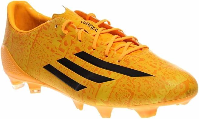 Amazon Com Adidas Lionel Messi F50 Adizero Trx Fg Soccer Shoes Solar Gold 11 Clothing