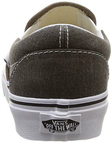 Vans U Classic - Zapatillas de Deporte de canvas Unisex Multicolor (Black/Desert Palm)
