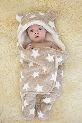 luxe-brown-sleep-blanket-keep-baby-safe-secure-ultra-soft-comfort0-3-months