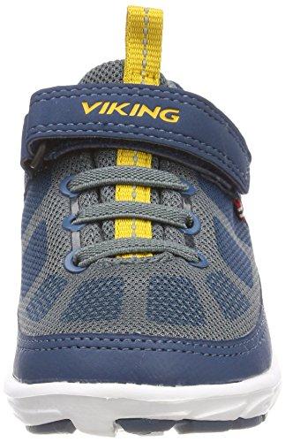 Viking Unisex-Kinder Vinderen GTX Outdoor Fitnessschuhe Blau (Petrol/Sun)