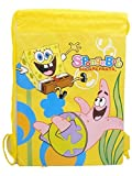 Spongebob Nickelodeon Yellow Drawstring Backpack