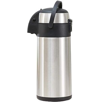 Amazon com: Pump Action Airpot Thermos Flask Drink Dispenser