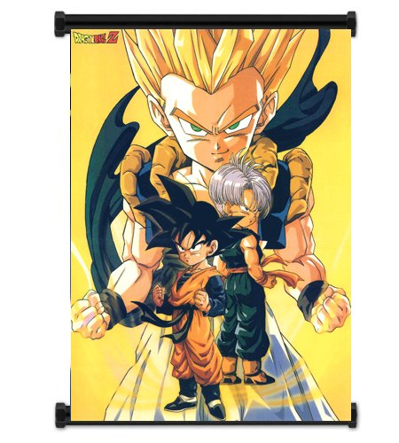 Dragon Ball Z Anime Fabric Wall Scroll Poster