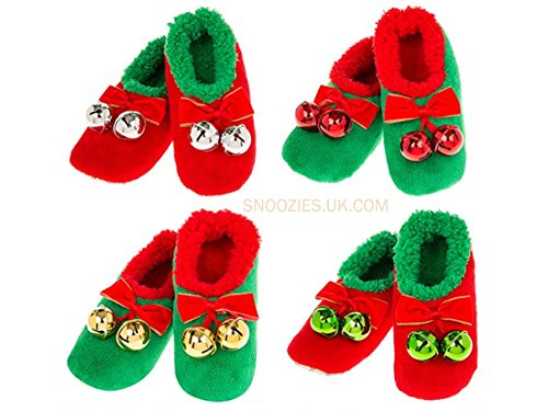 Red Snoozies Donna Snoozies Pantofole Baubles Pantofole ZwcRxaq7cY