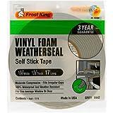 Frost King V442H Vinyl Foam Tape 1/8-Inch, Grey