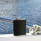 Pocket Hip Flask 8 Oz with Funnel - 18/8
