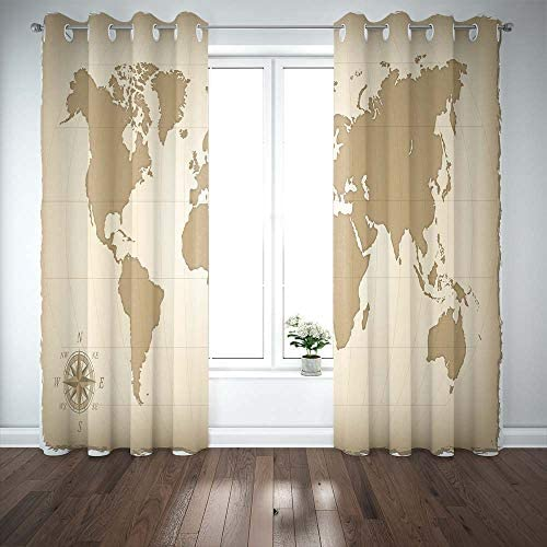 Reviewed: Musesh Map Curtains