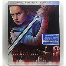 Star Wars The Last Jedi 2D+3D (Steelbook 3 Disc) (Hong Kong version / Mandarin Dubbed) 星球大戰: 最後絕地武士 2D + 3D