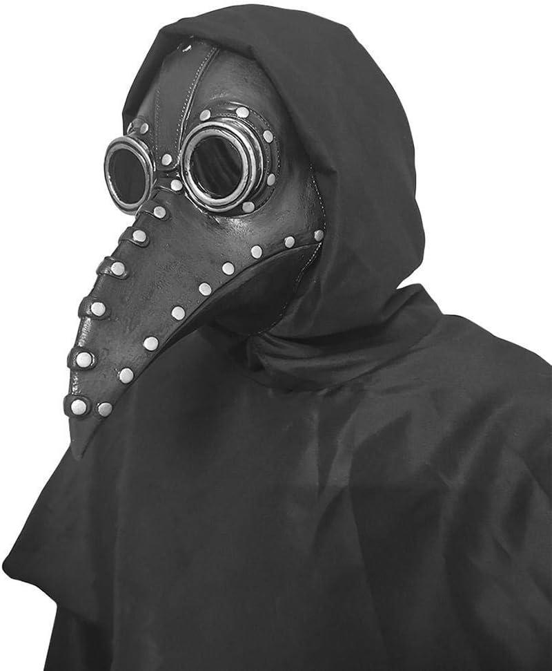 fantiff Puntelli di Costume di Becco Lungo Maschera di Becco Uccello Creativo per Halloween Accessori