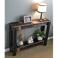 Black Farmhouse 36 Sofa Table