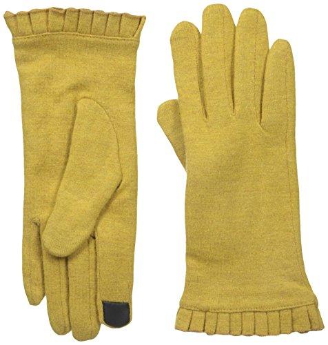 Gloves International Women's Wool Blend Gloves, Golden Yellow, Medium