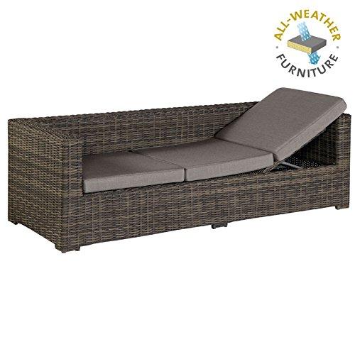 Exotan Rimini Lounge Sofa Bank 3 Sitzer Mit Liegefunktion