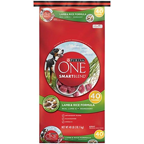 Purina ONE SmartBlend Natural Lamb & Rice Formula Adult Dry Dog Food - 40 lb. - 40lb Formula Bag