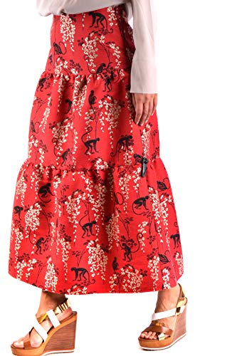 Jupe Red Valentino MCBI249088O Femme Coton Rouge wxBPYXq