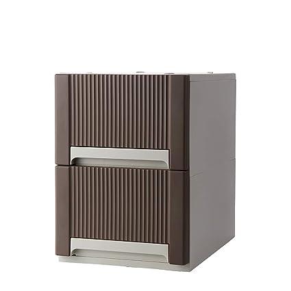 100% authentique 7b77e 88f87 Feibrand Meuble Armoire Tiroir Plastique Rangement Commode 2 ...