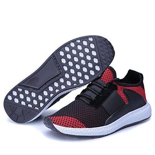Heren Outdoor Sport Hardloopschoenen Lichtgewicht Casual Sneakers J2221 Crèmekleurig