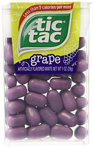 Tic Tac Grape - 1 oz. - 12 Count (Tic Tacs Grape compare prices)