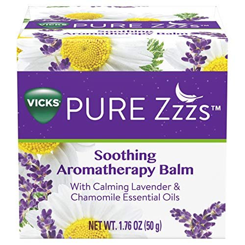 Vicks Pure Zzzs Soothing Aromatherapy Balm with Essential Oils 1.76 oz (Vicks Vapour Rub On Feet For Colds)