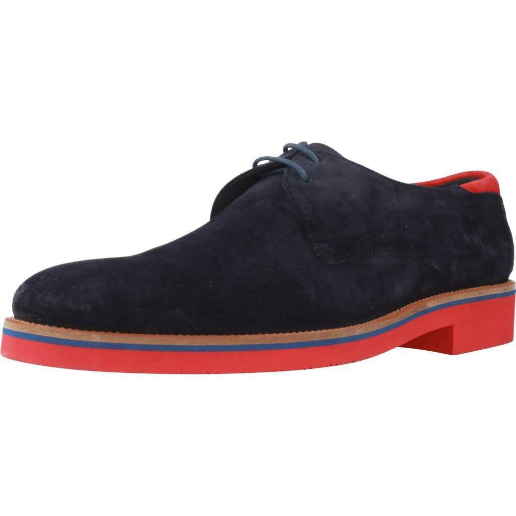 Zapatos de Cordones para Hombre, Color Azul, Marca ANGEL INFANTES, Modelo Zapatos De Cordones para Hombre ANGEL INFANTES 31055 Azul
