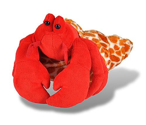 Wild Republic Hermit Crab Plush, Stuffed Animal, Plush Toy, Gifts for Kids, Cuddlekins 12 Inches ()
