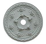 Hickory Manor House ''Cherub'' Ceiling Medallion, Rose