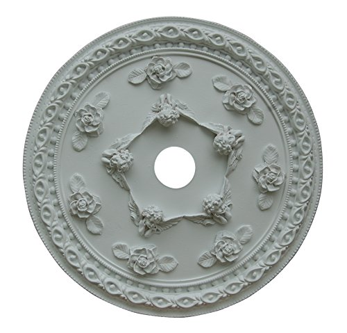 "Hickory Manor House ""Cherub Ceiling Medallion, Rose"