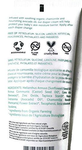 Green Beaver Baby Items Vegan Organic Body Wash, Lotion, Diaper Cream Bundle of 3 Items, Calming Lavender, Fragrance Free MCGS