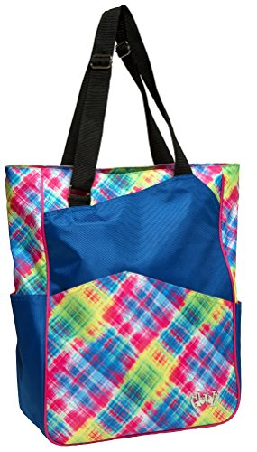 Glove It Women's Electric Plaid Tennis Tote TT227