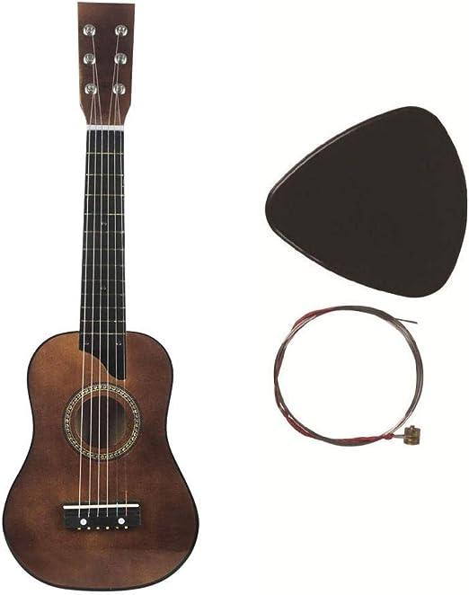 ADATEN Guitarra 6 Cuerdas Bajo Ukelele Principiante Instrumentos ...