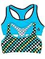 2 or 4 Pack Girls Microfiber Sports Bras