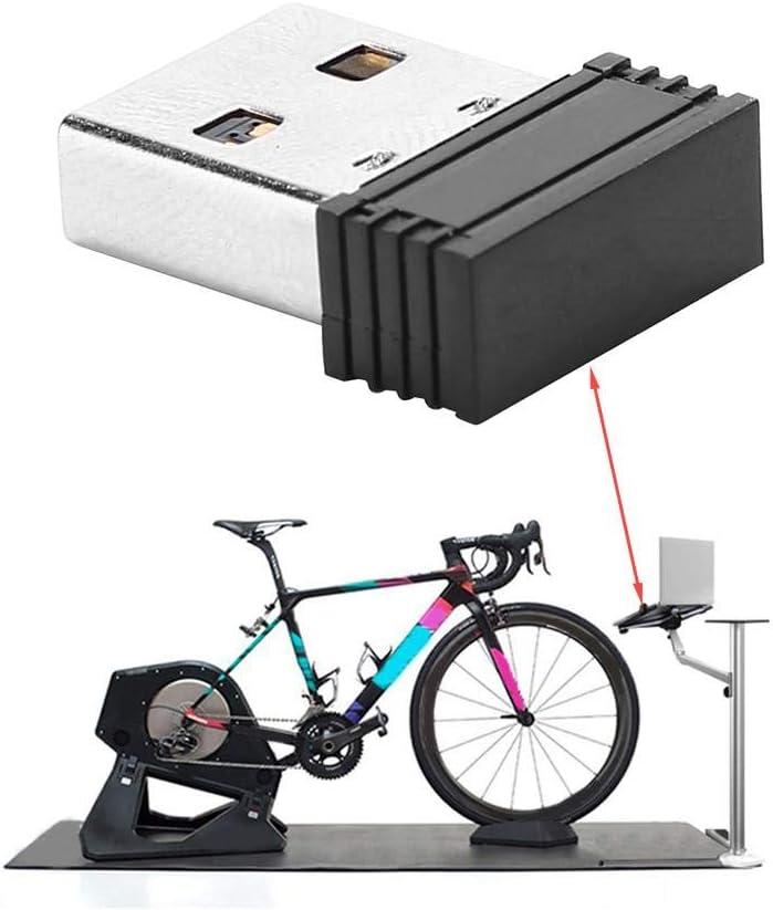 VGEBY Ant Transmisor USB Receptor Adaptador de Memoria USB Inal/ámbrico Compatible para Accesorios de Ciclismo para computadora de Bicicleta