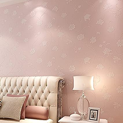 Non woven fabric sprinkling gold wallpaper, simple three ...