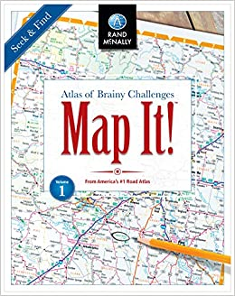 Amazon Map It Seek & Find Atlas of Brainy Challenges