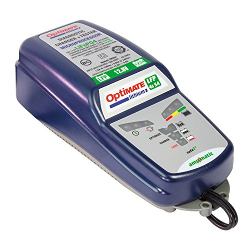 OptiMATE Lithium 4s 5A, TM-291, 10-step 12.8V/13.2V 5A battery saving charger-tester-maintainer