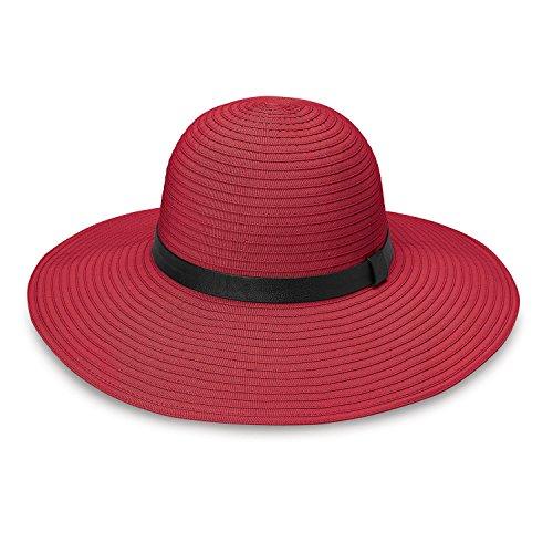 wallaroo - Harper - Wide Brim, UPF50+ Packable Sun Hat, (Designer Dress Hat)