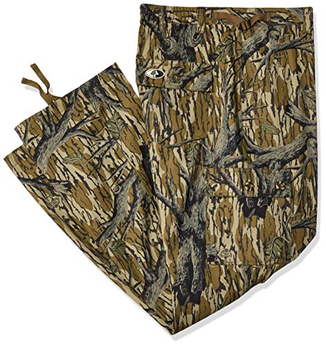 Mossy Oak Camouflage Cotton Mill Hunting Pants, Original Treestand, X-Large (Mossy Oak Tie)