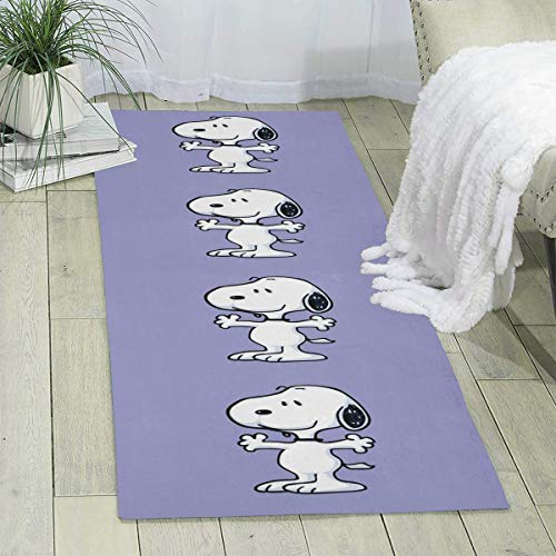 MOANDJI Snoopy Area Rugs Outdoor Collection Carpet for Play Safe Learn Educational & Have Fun 70