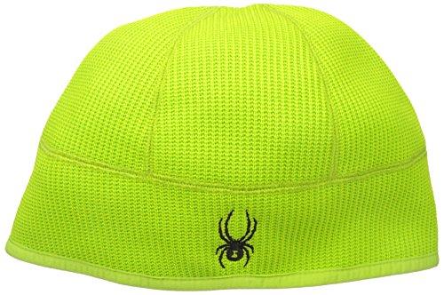 Spyder Men's Core Sweater Hat, Theory Green, (Spyder Mens Logo Cap)