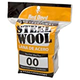 Red Devil 0322 8-Pack Steel Wool, 00 Very Fine
