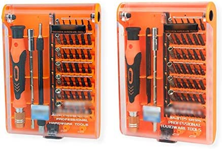LilyAngel テレコミュニケーションコンビネーションツール45-in-1マルチツール電話ドライバーコンピューターツールキット