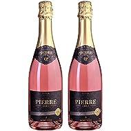 Pierre Chavin Zero Sparkling Rose Non-Alcoholic Sparkling Rose Wine 750ml (2 Bottles)