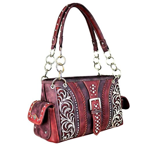 8085 W 2028 Montana West Belt Mujer Coffee Mw Buckle YxqxEPw1